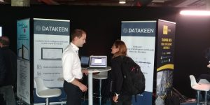 Datakeen exhibits at AI Paris