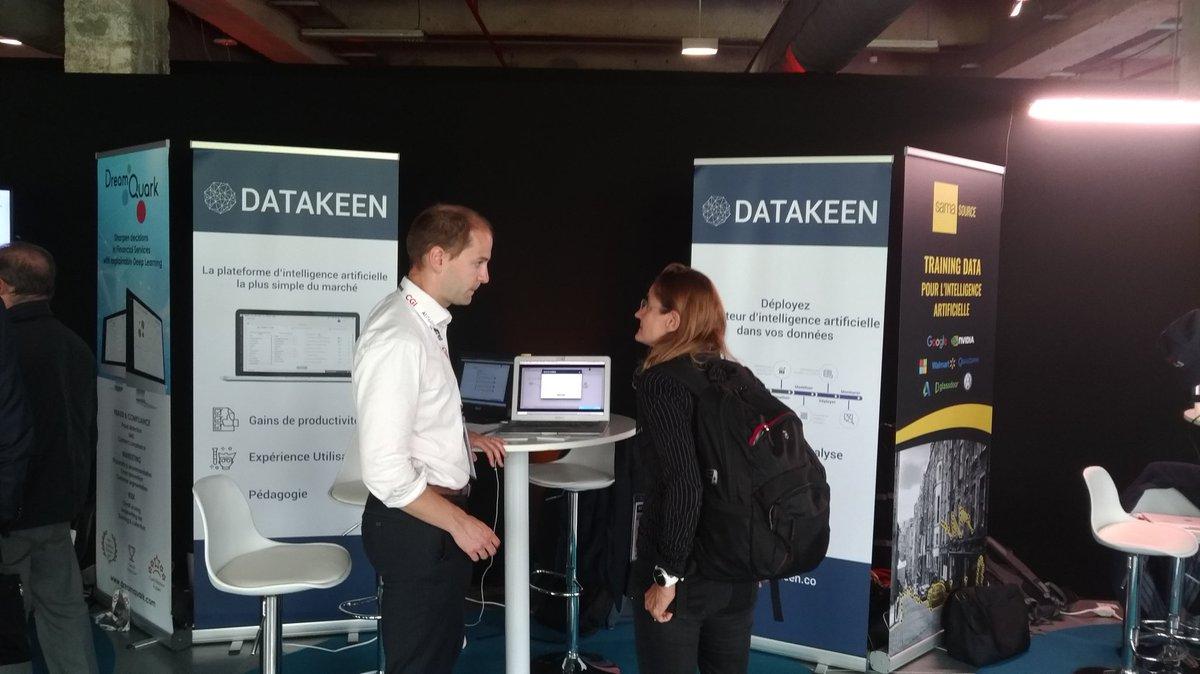 Datakeen au salon AI Paris 2018