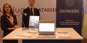 Datakeen exhibits at Big Data Paris