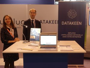 Datakeen exhibits at Big Data Paris